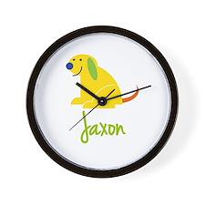 Jaxon Loves Puppies Wall Clock