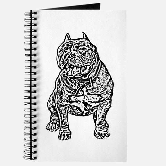 American Bully Dog Journal