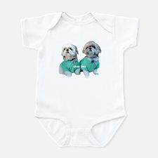 Shih Two Shih Tzu Infant Bodysuit