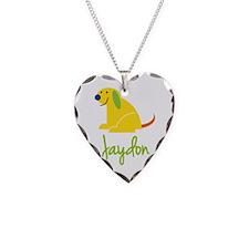 Jaydon Loves Puppies Necklace