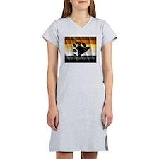 BEAR PRIDE FLAG Women's Nightshirt