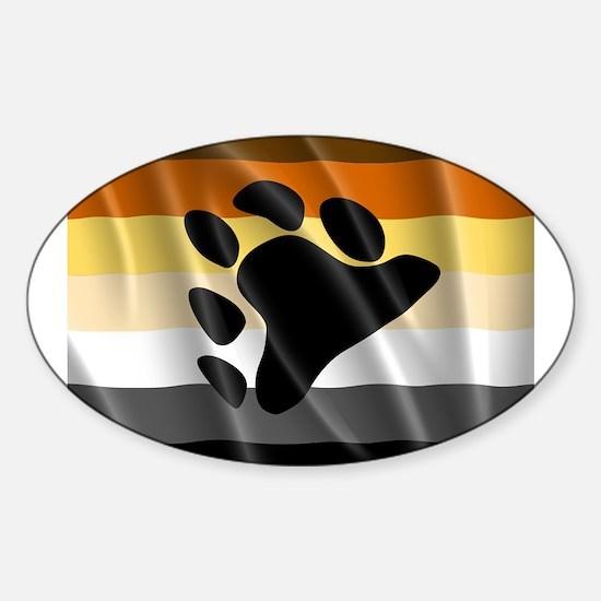 BEAR PRIDE FLAG Decal