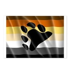 BEAR PRIDE FLAG Postcards (Package of 8)