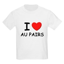 I love au pairs Kids T-Shirt