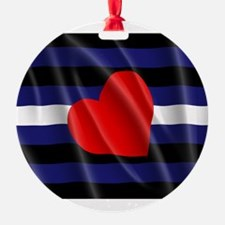 LEATHER PRIDE FLAG Ornament