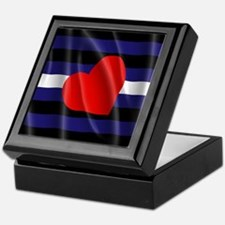 LEATHER PRIDE FLAG Keepsake Box
