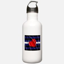 LEATHER PRIDE FLAG Water Bottle