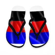 POLYAMORY FLAG Flip Flops