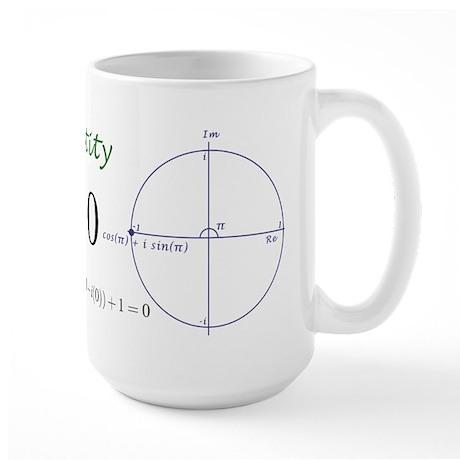 Euler's identity Large Mug