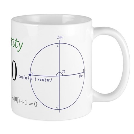 Euler's identity Mug