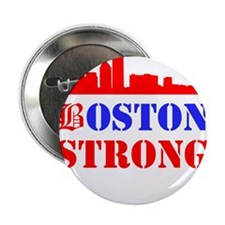 "Boston Strong Red and Blue 2.25"" Button (10 pack)"