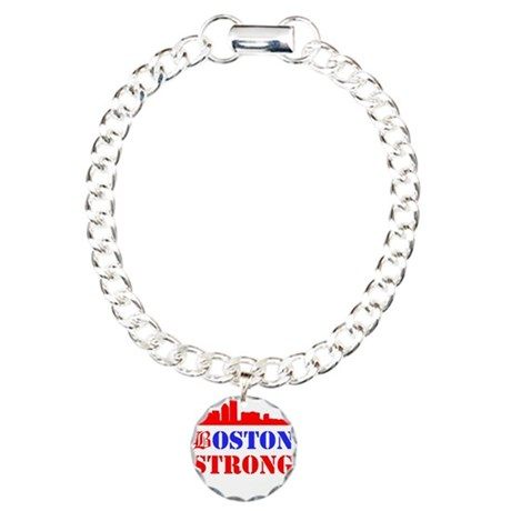 Boston Strong Red and Blue Bracelet