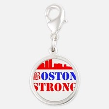 Boston Strong Red and Blue Charms