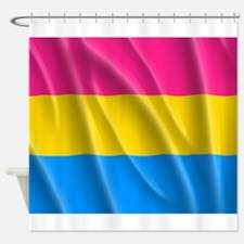 PANSEXUAL PRIDE Shower Curtain