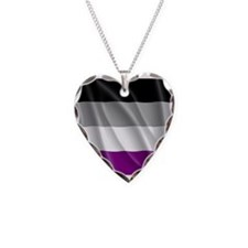 ASEXUAL PRIDE FLAG Necklace