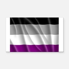 ASEXUAL PRIDE FLAG Rectangle Car Magnet