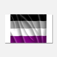 ASEXUAL PRIDE FLAG Car Magnet 20 x 12