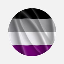 "ASEXUAL PRIDE FLAG 3.5"" Button"
