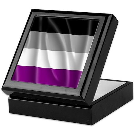 ASEXUAL PRIDE FLAG Keepsake Box