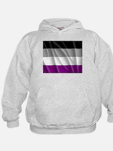 ASEXUAL PRIDE FLAG Hoodie