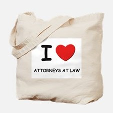 I love attorneys at law Tote Bag