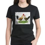 Norwegian Jaerhons Chickens Women's Dark T-Shirt