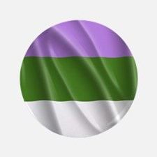 "GENDERQUEER PRIDE FLAG 3.5"" Button"