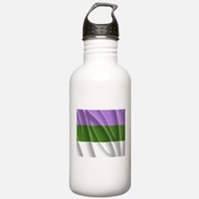 GENDERQUEER PRIDE FLAG Water Bottle