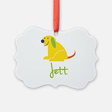 Jett Loves Puppies Ornament