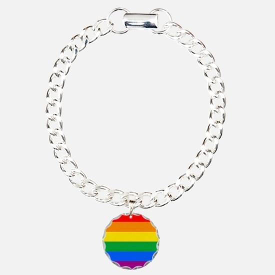 GAY PRIDE FLAG - RAINBOW FLAG Bracelet