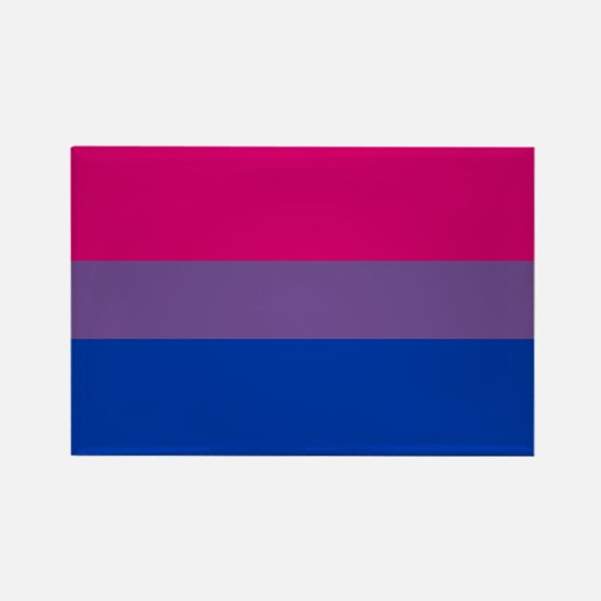 BISEXUAL FLAG Rectangle Magnet
