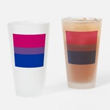 BISEXUAL FLAG Drinking Glass