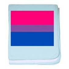 BISEXUAL FLAG baby blanket