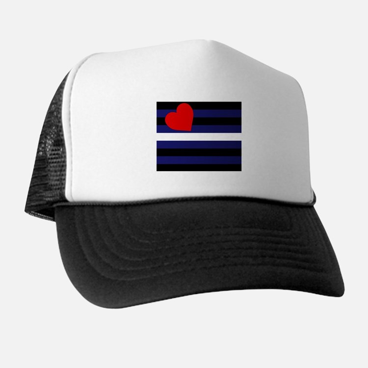 LEATHER FLAG Trucker Hat