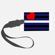 LEATHER FLAG Luggage Tag