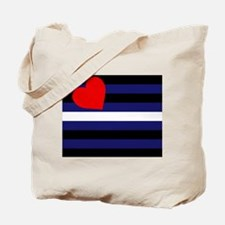 LEATHER FLAG Tote Bag