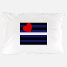 LEATHER FLAG Pillow Case