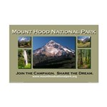 Mount Hood National Park Campaign Poster