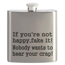 If youre not happy fake it Flask