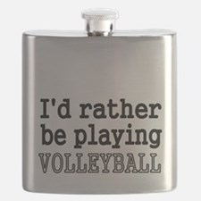 Id rather be playing VOLLEYBALL Flask