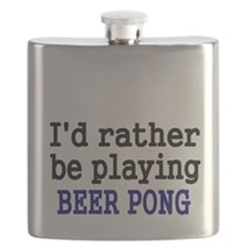 Id rather be playing BEER PONG Flask