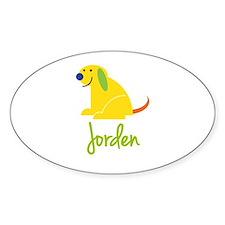 Jorden Loves Puppies Decal