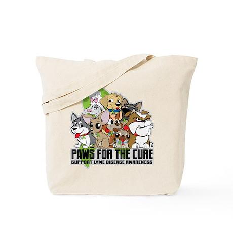 Lyme Disease Puppy Group Tote Bag