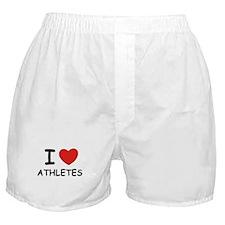 I love athletes Boxer Shorts