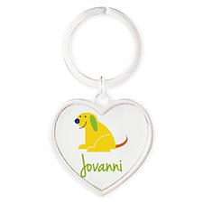Jovanni Loves Puppies Keychains