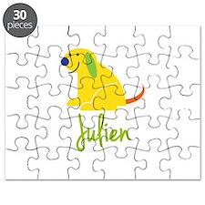 Julien Loves Puppies Puzzle