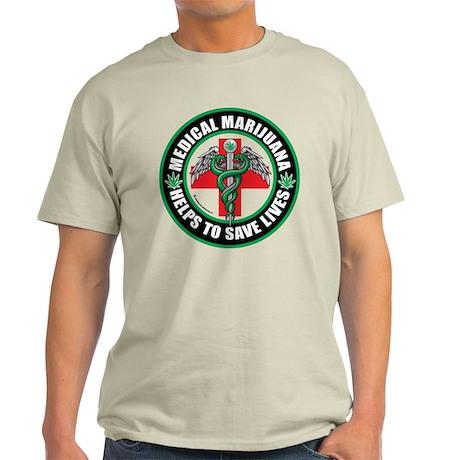 Medical Marijuana Helps Light T-Shirt