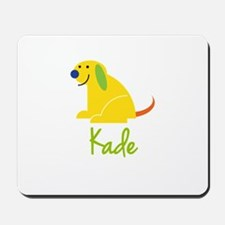 Kade Loves Puppies Mousepad