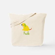Kade Loves Puppies Tote Bag