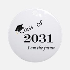 Born in 2013/Class of 2031 Ornament (Round)
